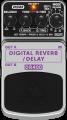 Behringer DR400 Digital Reverb/ Delay Pedal