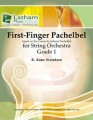 First Finger Pachelbel for String Orchestra by Anne Svendsen