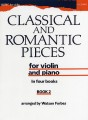 Classical and Romantic Pieces for Violin Book 2 (Forbes)