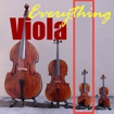 Viola - second smallest member of the violin family